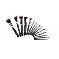 15 Piece Silver Brush Set