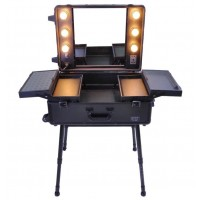 Mobile Light Vanity Case Black