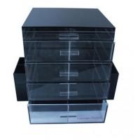 Noir Box Makeup Storage