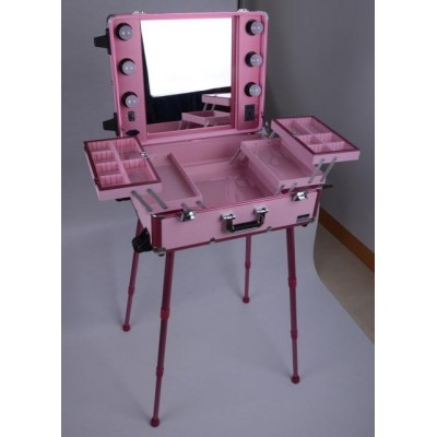 Mobile Light Vanity Case Pink